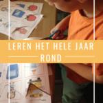 Leren – het hele jaar rond