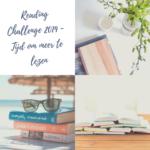 Reading Challenge 2019 – Tijd om meer te lezen